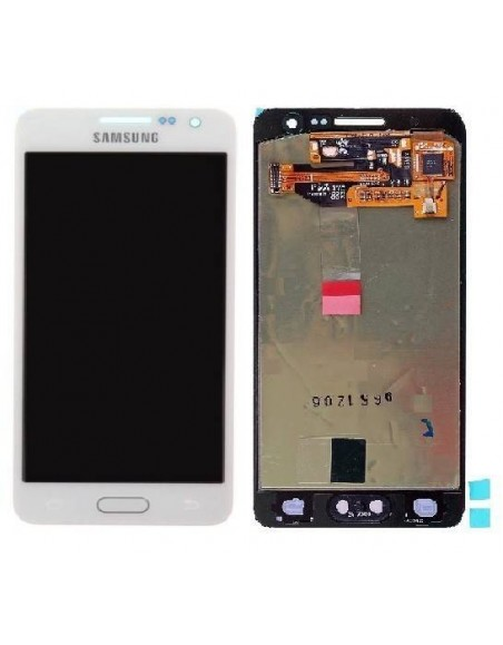 Samsung Galaxy A3 2015 SM-A300 LCD Screen and Digitizer Assembly - White - Original GH97-16747A  - 1