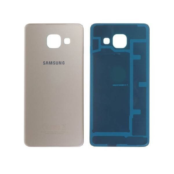 watch 312a8 d646d Samsung Galaxy A3 (2016) SM-310 Back Cover with Adhesive - Gold - Original  GH82-11093A