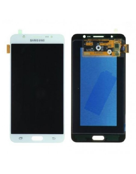 Samsung Galaxy J7 SM-J710F LCD Screen and Digitizer Assembly  - White - Original GH97-18931C/GH97-18855C  - 1