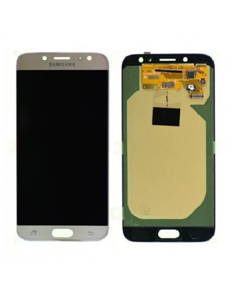 Samsung Galaxy J7 2017 SM-J730FD LCD Screen and Digitizer Assembly  - Gold - Original GH97-20736C  - 1
