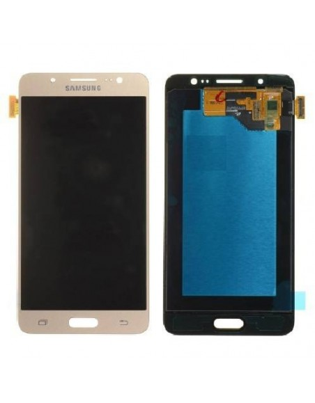 Samsung Galaxy J5 SM-J510F LCD Screen and Digitizer Assemby - Gold - Original GH97-18792A  - 1