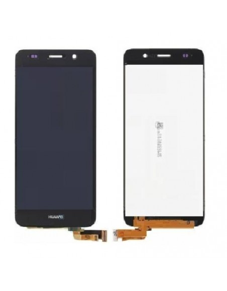 Huawei Y6 LCD Screen and Digitizer Assembly - Black  - 1