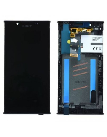 Sony Xperia L1 LCD Screen and Digitizer Assembly with Frame - Black - Original A/8CS-81000-0001