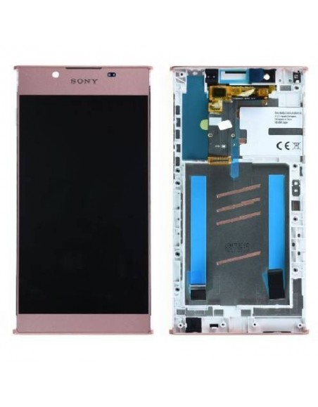 Sony Xperia L1 LCD Screen and Digitizer Assembly with Frame - Pink - Original A/8CS-81000-0003