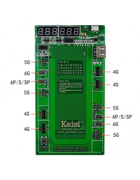 Kaisi Professional Battery Activation & Charge Board for iPhone Telecom care - 1