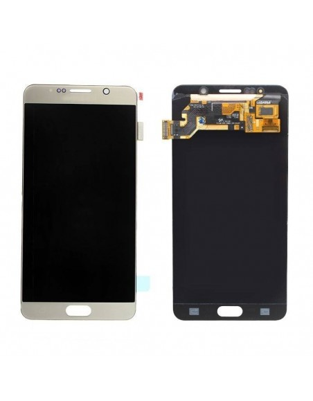 Samsung Galaxy Note 5 SM-N920F LCD and Digitizer Assembly - Gold - Original GH97-17755A Samsung - 1
