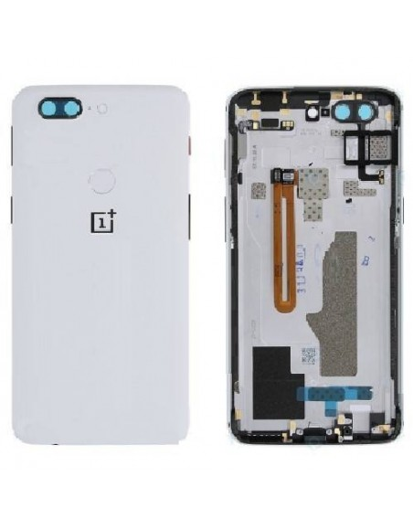 OnePlus 5T Back Cover - White OnePlus - 1