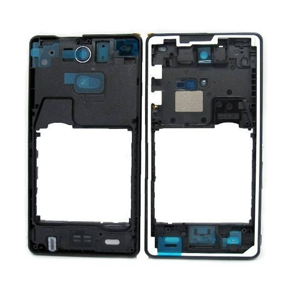 new style bd593 99b8d Sony Xperia ZR Back Cover - Black - Original
