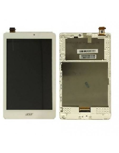 ACER ICONIA TAB W1-810 LCD Screen and Digitizer Assembly with Frame - White