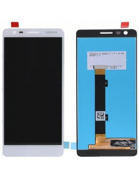 Nokia 3.1 LCD Screen and Digitizer Assembly - White