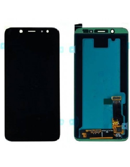 Samsung A6 Plus LCD Screen Digitizer Assembly - Black - Original GH97-21878A  - 1