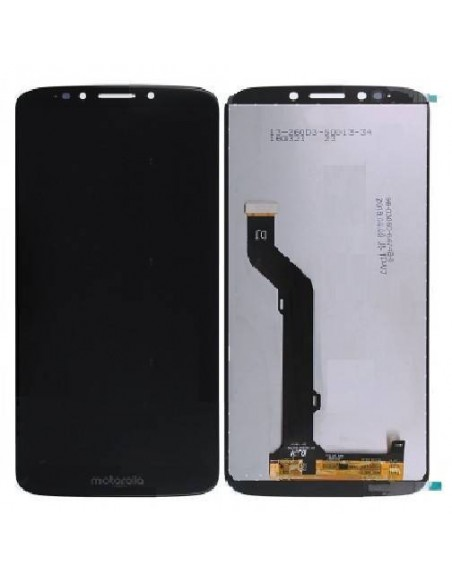 MOTO E5 Plus LCD Screen and Digitizer Assembly - Black
