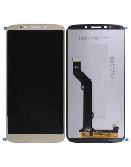 MOTO E5 Plus LCD Screen and Digitizer Assembly - Gold