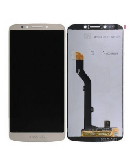 MOTO E5 LCD Screen and Digitizer Assembly - Gold