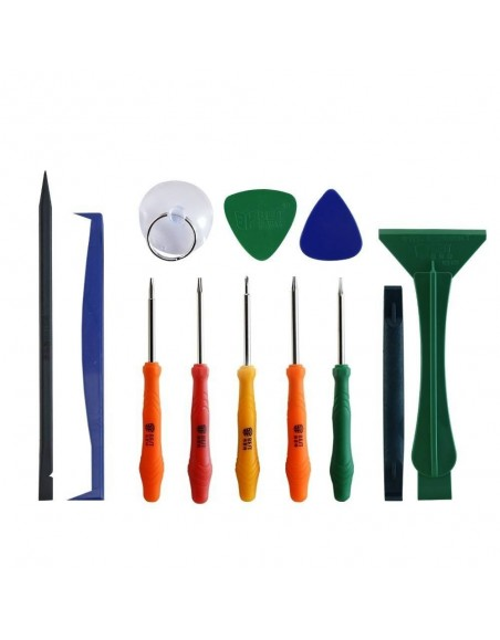 BST-288 12 in 1 Free sample hand tools Dissemble Tools Kit Pry Tool Opening for IPone iPad Mobile Phone