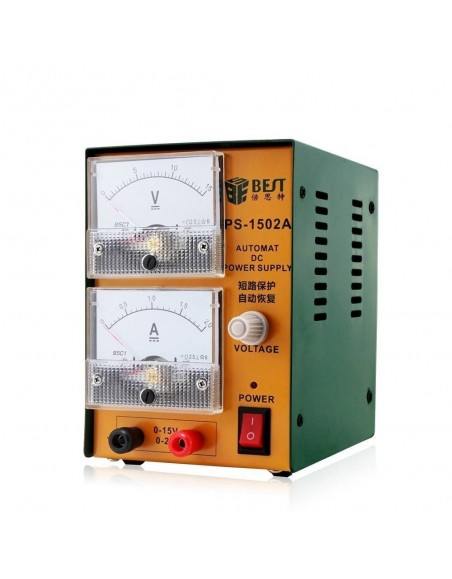BEST-1502A single channel output and high precision DC power supply with mA as long power supply