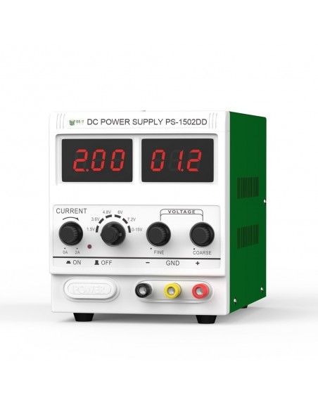 15V 2A DC regulated power supply manufacturer LED display signal detecting BST-1502D+ Telecom care - 1