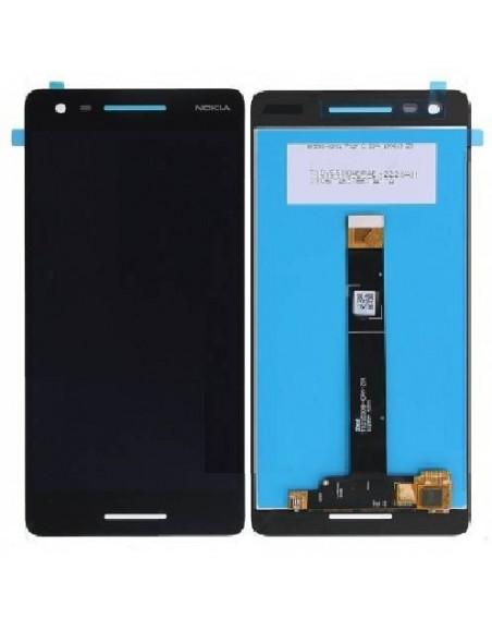 Nokia 2.1 LCD Screen And Digitizer Assembly - Black Nokia/Microsoft - 1