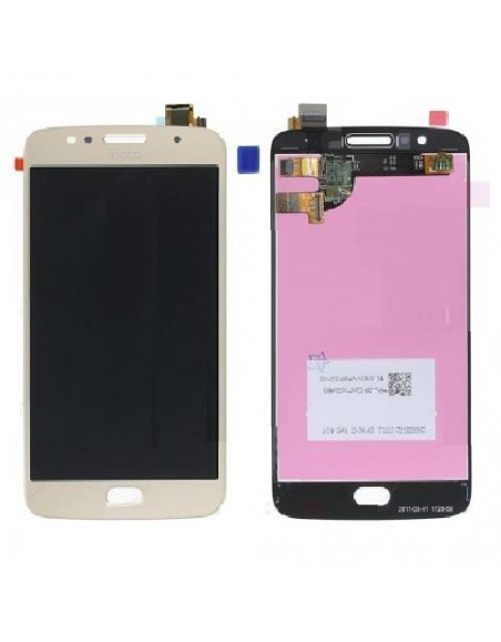 Moto G5s LCD Screen and Digitizer Assembly - Gold