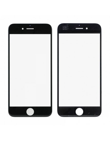 iPhone 6 Front Glass - Black Apple - 1