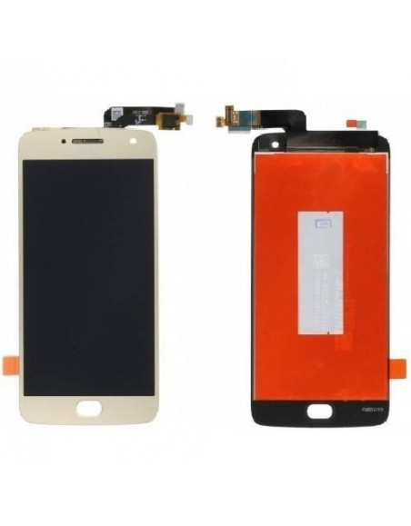 MOTO G5 Plus LCD Screen and Digitizer Assembly - Gold