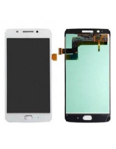 MOTO G5 LCD Screen and Digitizer Assembly - White