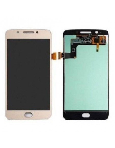 MOTO G5 LCD Screen and Digitizer Assembly - Gold