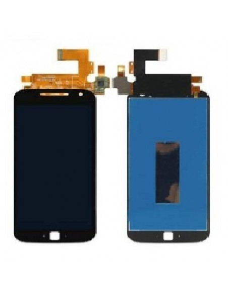 MOTO G4 Plus LCD Screen and Digitizer Assembly - Black