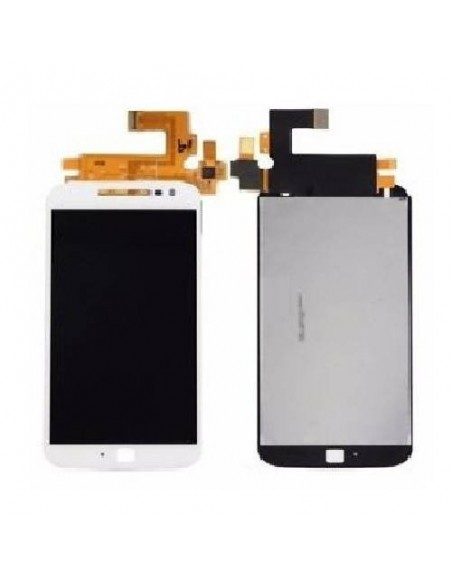 MOTO G4 Plus LCD Screen Digitizer Assembly - White