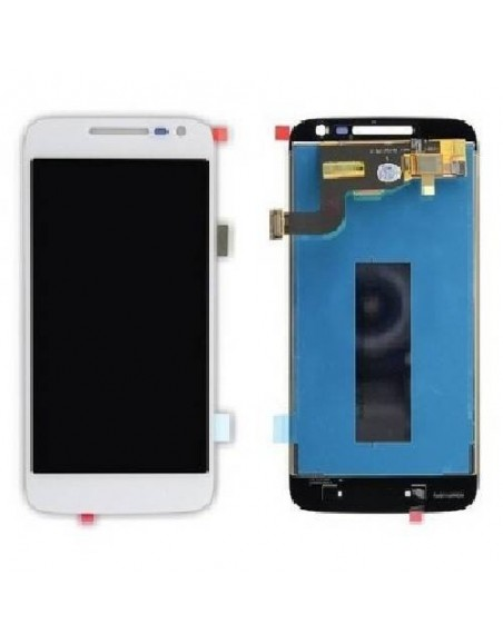 MOTO G4 Play LCD Screen and Digitizer Assembly - White