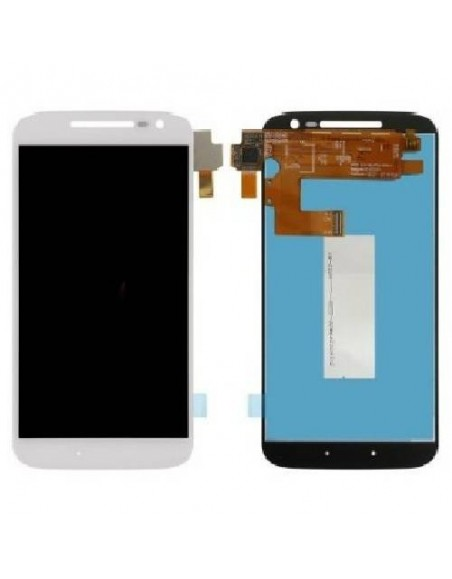 MOTO G4 LCD Screen and Digitizer Assembly - White