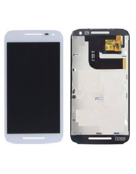 MOTO G 3 LTE LCD Screen and Digitizer Assembly - White