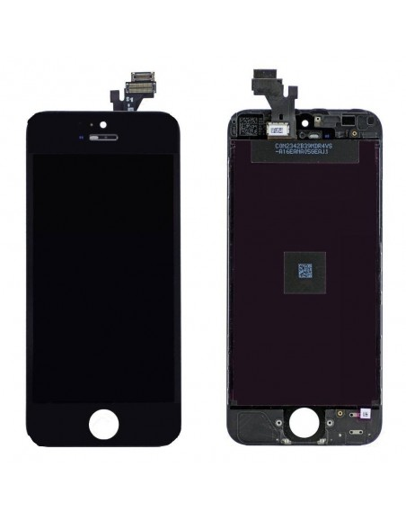 iPhone 5 LCD with Digitizer Assembly - Black - Original  - 1