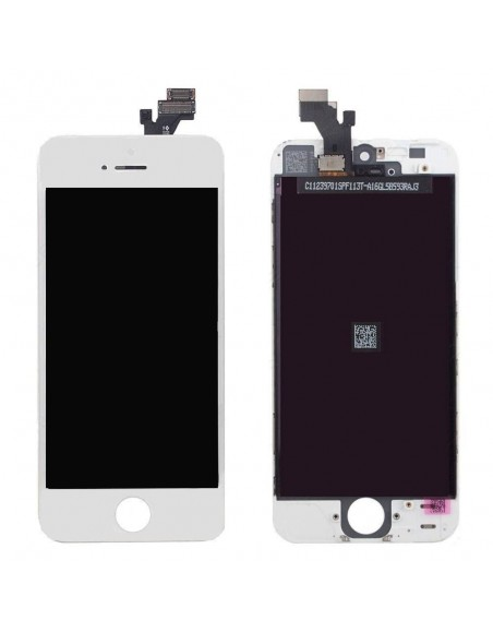 iPhone 5 LCD with Digitizer Assembly - White - OEM Apple - 1