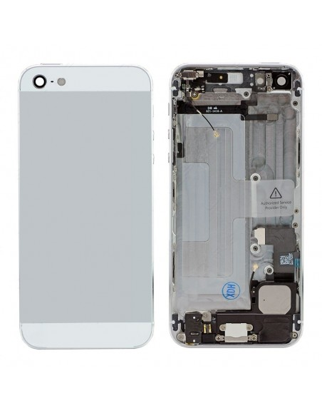 iPhone 5 Back Cover Assembly - Silver - OEM Apple - 1