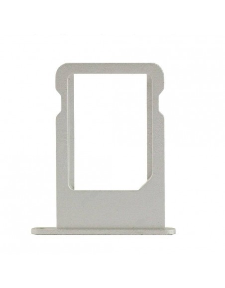 iPhone 5 Nano Sim Card Tray - Silver Apple - 1