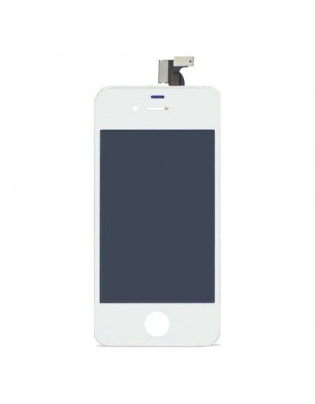 iPhone 4S LCD Touch Screen Digitizer Assembly - White - OEM Apple - 1