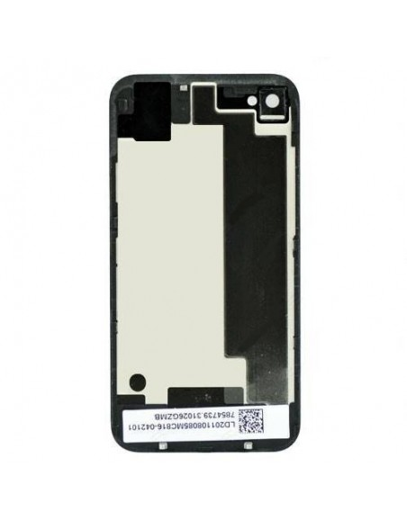 iPhone 4S Back Cover Assembly - Black Apple - 1