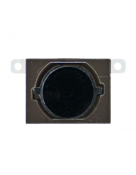 iPhone 4S Home Button with Rubber Gasket - Black Apple - 1