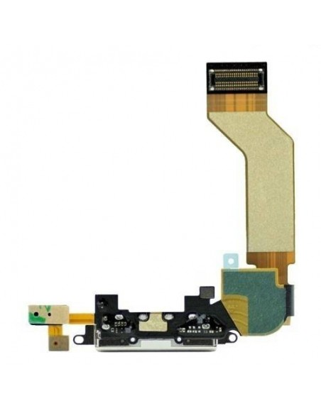 iPhone 4S Charger Connector Flex Cable - White Apple - 1