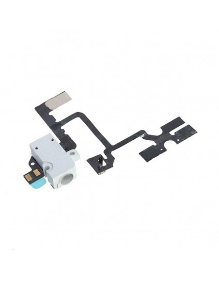 iPhone 4 Headphone Jack Flex Cable - White Apple - 1