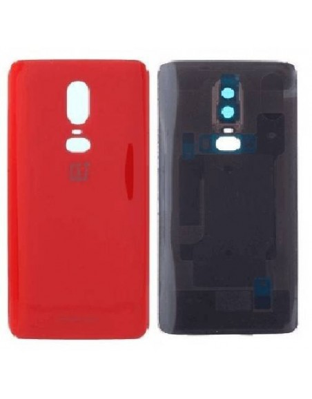 OnePlus 6 Back Cover Original - Red  - 1