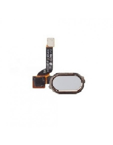Bouton d'Accueil avec Chassis pour OnePlus 3/3T - Blanc OnePlus - 1