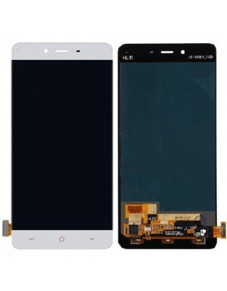 OnePlus X LCD Screen and Digitizer Assembly - White OnePlus - 1