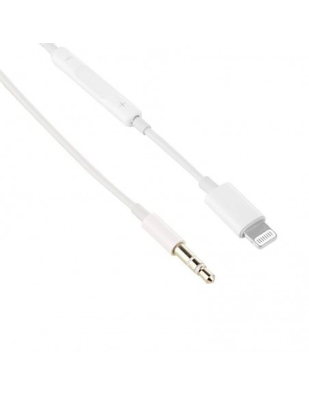 Lightning To 3.5mm AUX Audio Car Line Out Cable for iPhone XS MAX XR X 8 7 Plus  - 1