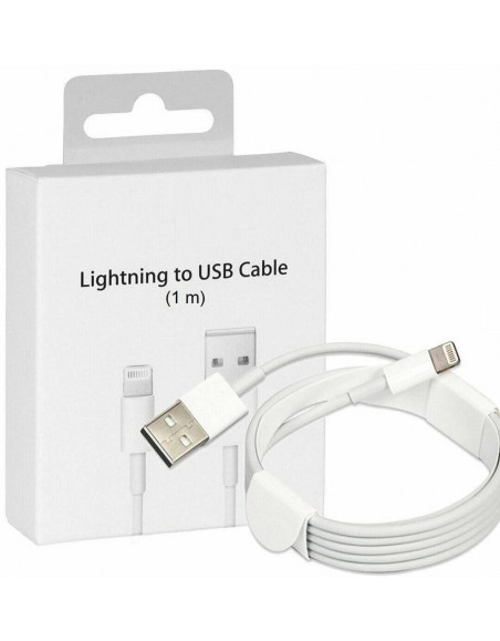 1M Apple Lightning USB Charger Lead Cable For iPhones/iPads/iPods  - 1