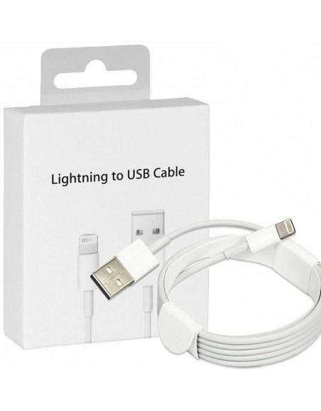 2M Apple Lightning USB Charger Lead Cable For iPhones/iPads/iPods  - 1