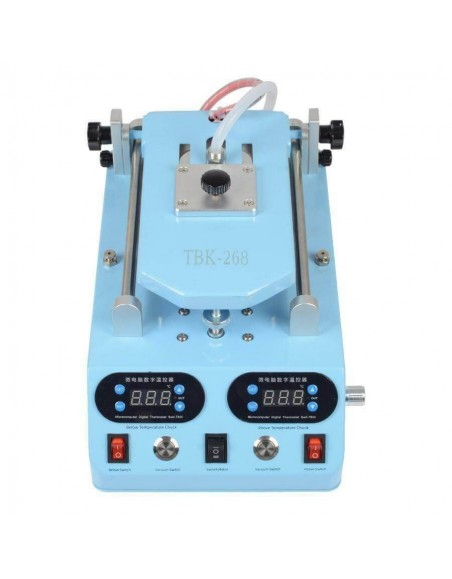 TBK-268 Automatic LCD Bezel Heating Separator Machine For Flat Curved Screen 3 in 1 Touch Screen Separator  - 1