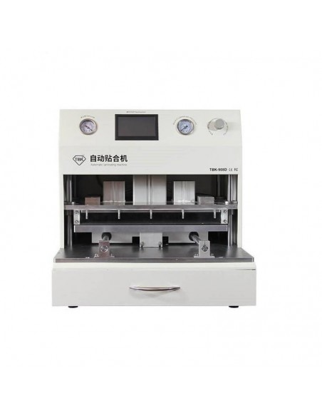 TBK 18 inch LCD Touch Screen Vacuum Laminator Machine OCA Vacuum Laminating Machine + UV curing lamp Curved Touch Screen Repair