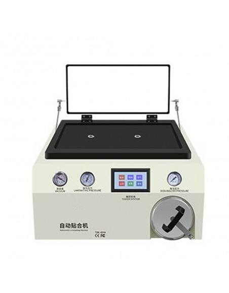 TBK-408A 15 Inch Mobile Phone LCD Laminator Machine with Transparent Cover and Autoclave Bubble Remover  - 1
